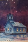 Sarach's Painting of Moosup Valley Church